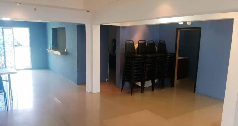 Renta de salones en la colonia Buena vista Nuevo Laredo